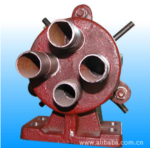 Vaccum Permanent magnet filter four way valve
