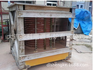Intermediate frequency electric furnace steel shell