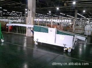 Container packing automatic lifting belt conveyor