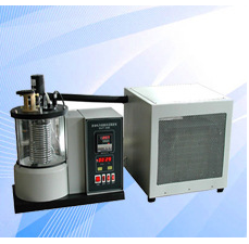 Instrument for determination of crystallizing point