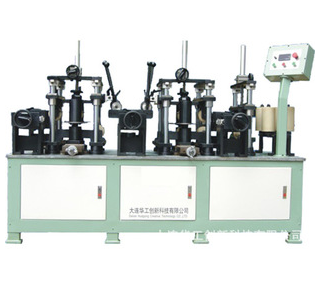 The broken bridge aluminum double color compound machine