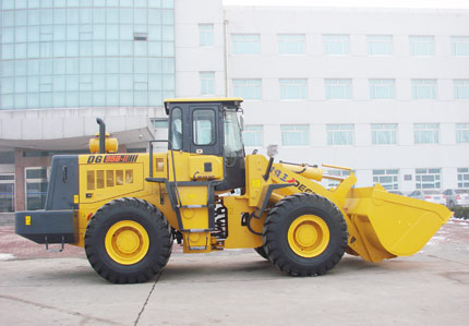 DG958 Wheel Loader with Steyr engine 5 ton wheel loader