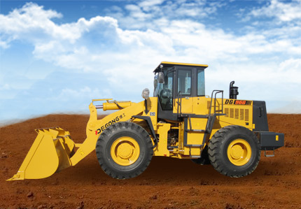 DG966 Wheel Loader with Styer engine 6 ton wheel loader