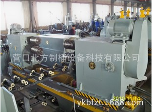 Corrugated W rib machine