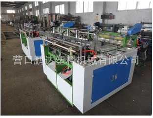 Double color printing Refeng eagerly plastic bag making machine