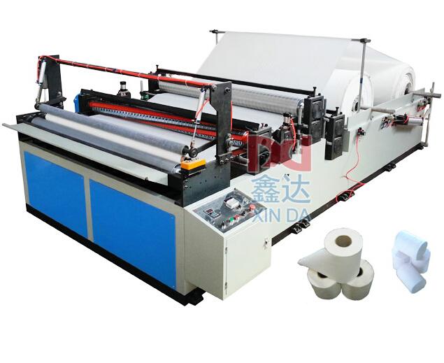 Простая перемоточно-перфомационная машина для производства туалетной бумаги типа CIL-SP