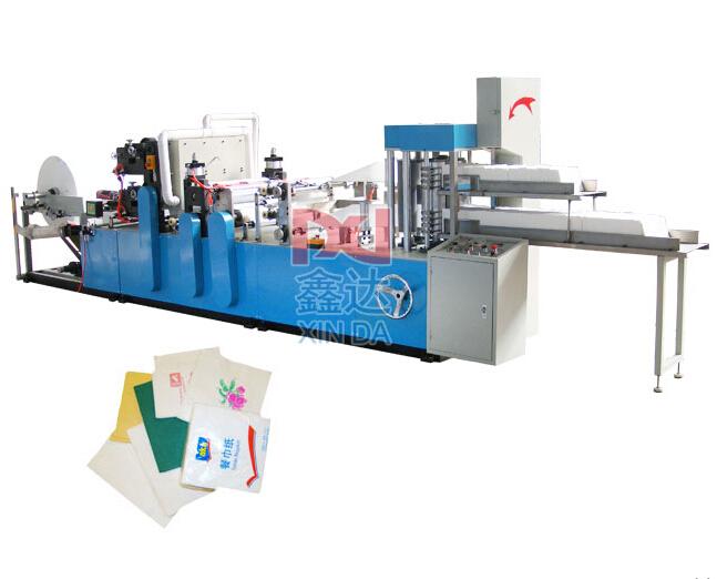 CIL-NP-7000K250-500-2 Высокоскоростная и высокопродуктивная машина для производства салфеток.