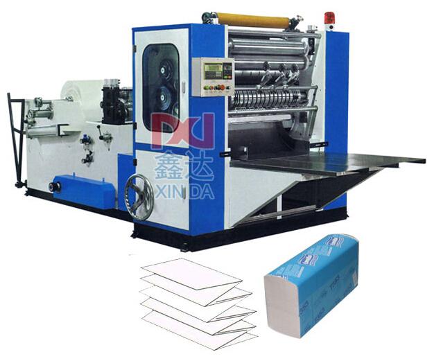 CIL-AS-288 Полноавтоматическая машина для произоводства бумажных полотенец с тремя складываниями
