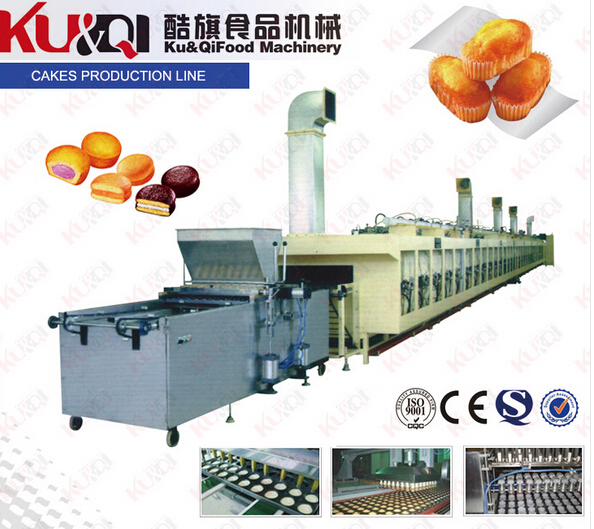 KQ/CK600-1000全自动蛋糕生产线