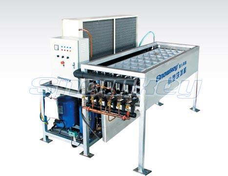 非集装箱铝合金板直接蒸发式块冰机