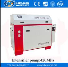 America pump ACCUTREAM pump 420MPa PLC intnsifier pump
