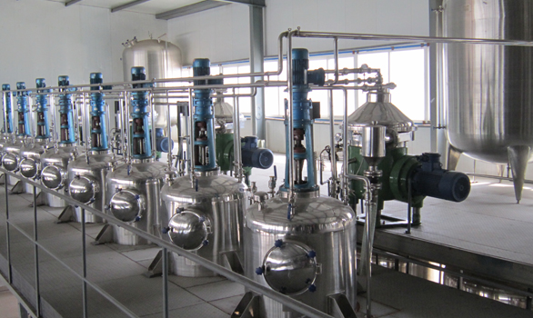 Red pepper refining plant