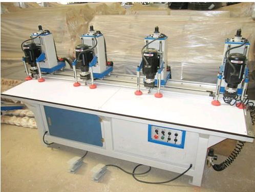 Drilling Machine for Woodworking, Loose-Leaf Drilling Machine