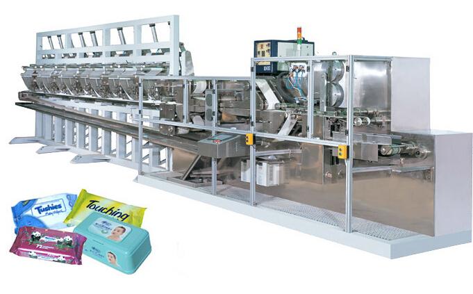 DCW-2700L全自动湿巾折叠机(80-120片)
