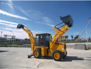 WZ30-25 backhoe loader with pilot control