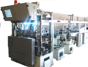 Automatic capsule product line