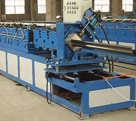 Door frame rolling and folding forming machine