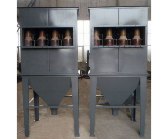 Ceramic multi tube cyclone dust collector