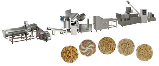 油炸膨化食品生产线/零食机器