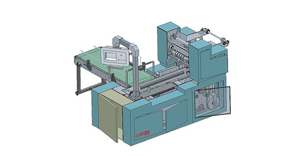 OPT-40J/R型盒抽(软抽/卷纸)自动贴把机