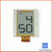 E-ink custom low power segment digital flexible LCD display