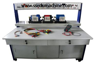 Учебное оборудование техники трёхфазного синхронного электродвигателя учебное оборудование