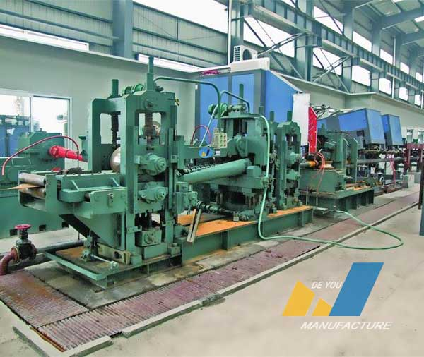 API pipe production line