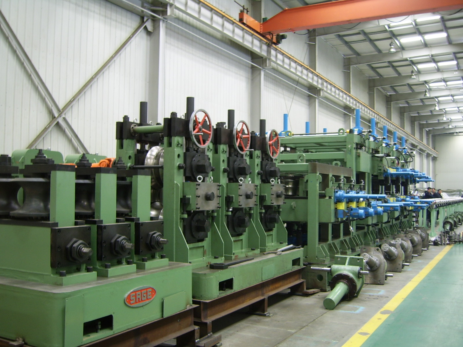 SG219Pipe Welding Production Line
