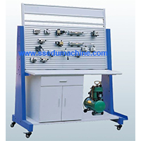 Basic Pneumatic Training Workbench Pneumatic Trainer Scientific Laboratory Equipment