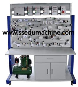 Basic Hydraulic Training Workbench Hydraulic Trainer Technical Training Equipment