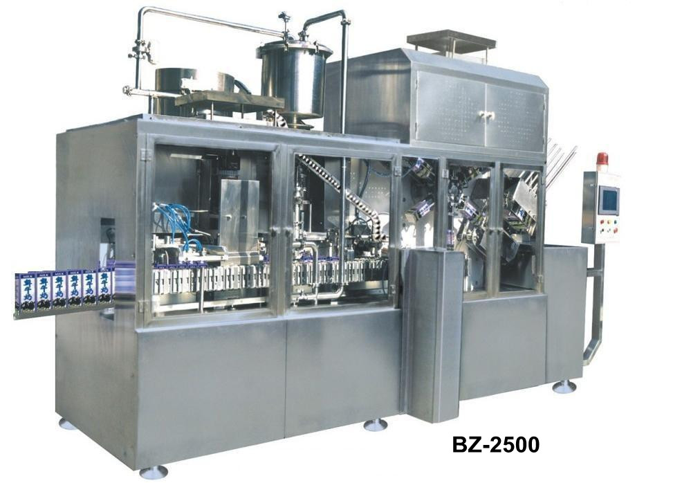 Brick Carton Filling Machine