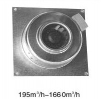 LV series circular interface wall fan