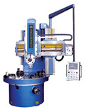 CK5110 single column vertical lathe