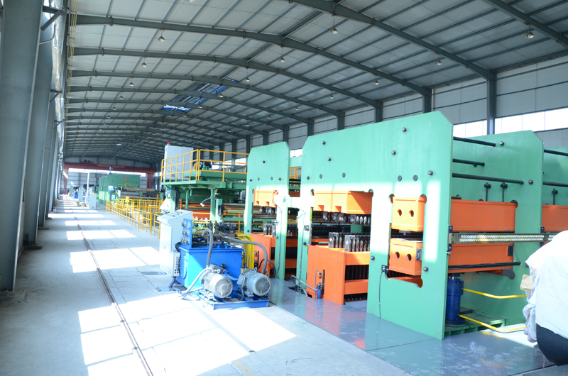 conveyor belt vulcanizing production line