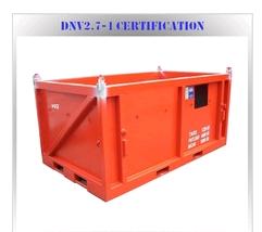 dnv 2.7-1 offshore waste skip