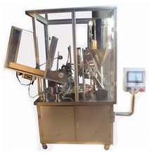 Automatic Aluminum & Soft Tube Filling and Sealing Machine