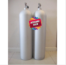 aluminum gas cylinder, diving cylinder,12L-20MPa,high pressure gas cylinder