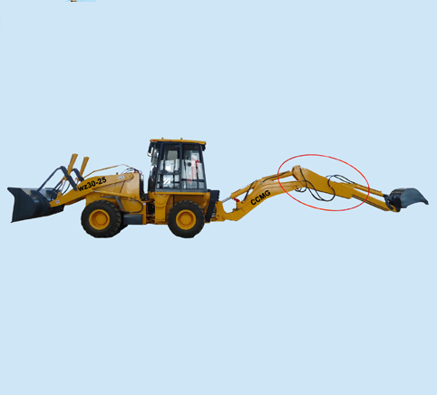 extend arm backhoe bucket wheel excavator for sale, chaogong old brand quality