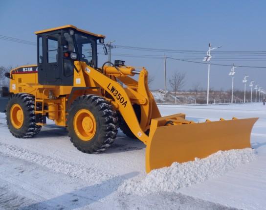 snow removal blade loader, snow bucket loader
