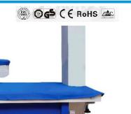 KS-X1400 Customized Vacuum Ironing Table With Auto Suction