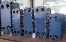 M6 gasketed spiral plate heat exchanger
