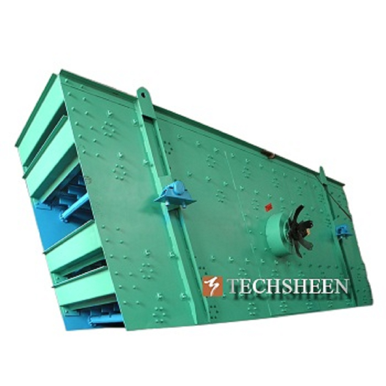 Mining Industry Metal Ore Curshing Screen with Low Noice