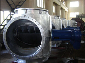 four -way Butterfly Valve