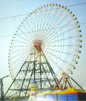 The 112m Sightseeing sky wheel
