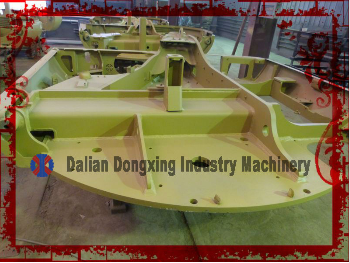 hydraulic excavator chassis of industry machinery