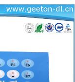 Waterproof PET/PC Polyester Keypad Button Circuit Tactile Membrane Keypad