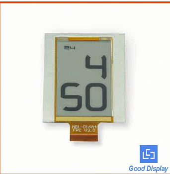 E-ink technology custom low power segment digital flexible LCD display