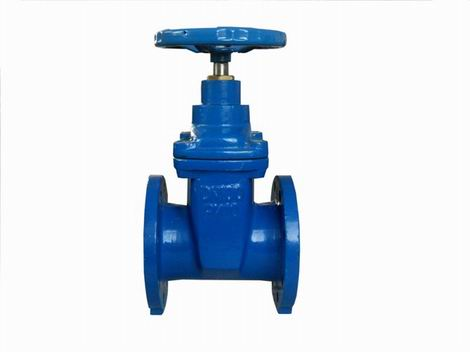 metel seated cast iron 3 way gate valve
