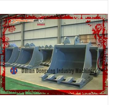 weld excavator standard ditching buckets