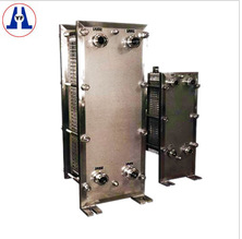 Crossflow plate fin heat exchanger for water and oil cooling and heating